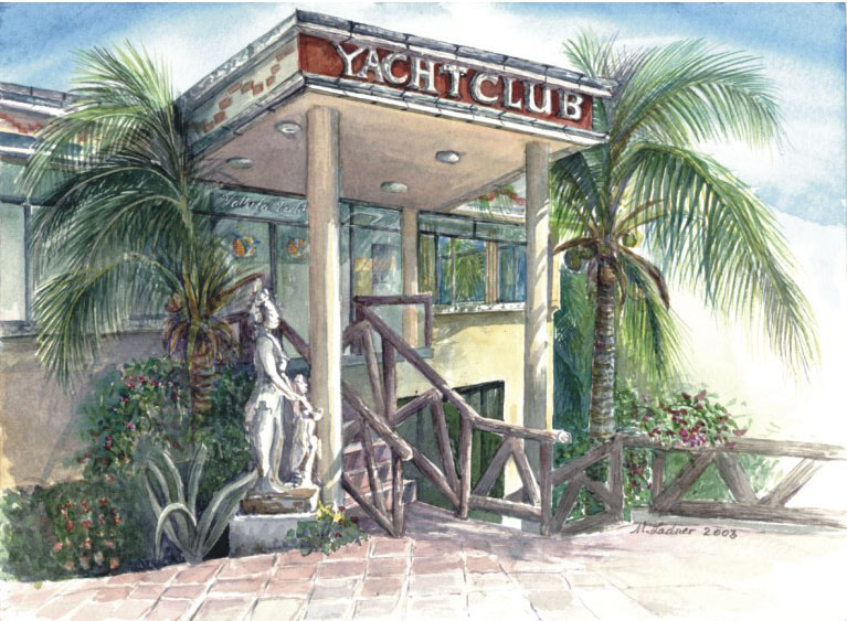 Vallarta Yacht Club Clubhouse